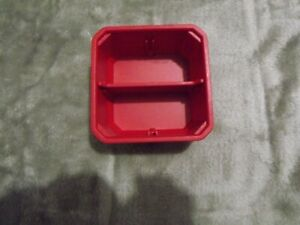 NEW MILWAUKEE PACKOUT NESTING CUP 2 COMPARTMENT FITS IN YOUR BOX RED