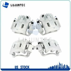 Front Rear Brake Calipers Pairs For 1999 2000 2001 2004 Ford F 350 Super Duty $315.06