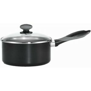 Mirro A79723 Get A Grip Aluminum Nonstick Sauce Pan with Glass Lid Cover Cookwa