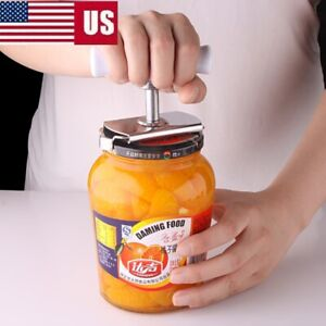 Stainless steel Can Opener Easy OFF JAR LID OPENER For All Size Jar Bottle