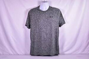 Mens Under Armour Heatgear Tech T Shirt 2.0 Black $13.75