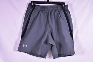 Men's Under Armour Launch Stretch Woven 7 Inch Shorts, Grey $24.50