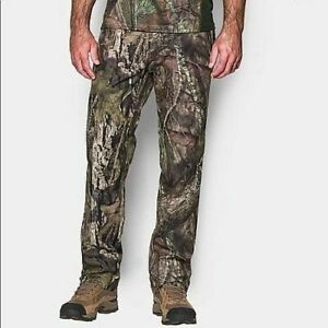 Under Armour Camo Men's Size 36 32 Mossy Oak Hunting Pants 1279682 278 NWT $49.99