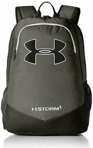 Under Armour Boy's Storm Scrimmage Backpack Black Silver 1277422 040 $49.99