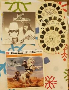 Gaf L26 The Legend of the Lone Ranger Movie 80s Lloyd view master Reels Packet $26.00