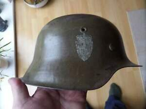 WW2 German M42 Helmet Norwegian DD