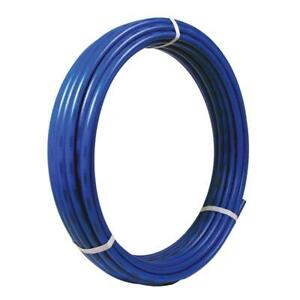 34 in. x 300 ft. Coil Blue PEX Pipe water supply underground use sharkbite tube