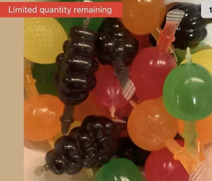 TIK TOK CANDY Dely Gely Fruit Jelly Fruit Licious Jelly TikTok 5 count Sampler