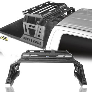 Pickup Roll Bar High Bed Rack Top Luggage Carrier  for Toyota Tundra 2014-2019