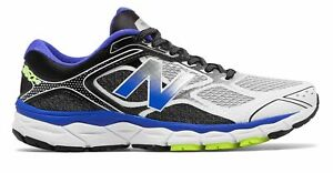 New Balance Men#x27;s 860v6 Shoes Blue with Black amp; Grey