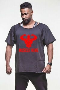 Muscle Gym Rag Top Bodybuilding Top Gym Clothing Vest Workout Training $24.95