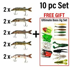 UFISH - Bass fishing lot  fishing bait Best Freshwater Lure Crankbaits