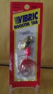 Yakima Bait Wordens VIBRIC Rooster Tail Spinner LurePink Red 18-Ounce NOS