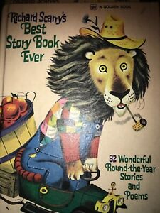 RICHARD SCARRY'S BEST STORY BOOK EVER 82 WONDERFUL STORIES & POEMS HC CHILDREN'S