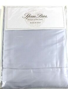 LILAC SMOKE QUEEN Sheet Set 600TC Sferra Allegro 100% EXTRA LONG STAPLE Cotton