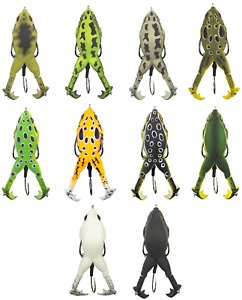 Lunkerhunt Prop Frog 3 1 4 inch Hollow Body Frog Bass Fishing Surface Lure