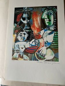 Rare Collection Domaine Picasso signed & number 30500 Lithograph $99.00