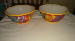 Pioneer Woman Celia Cereal Soup Bowl Yellow Trim