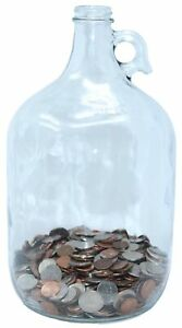 Skywin Swear Jar Large Glass Money Jar and Adult Piggy Bank for Storing Coi... $25.82