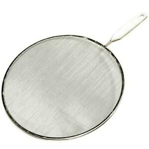 Chef Craft 21006 Splatter Screen, Stainless Steel/Aluminum, Painted 10 in Dia