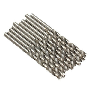 10PCS 4mm Micro HSS Twist Drilling Auger bit for Electrical Drill Tool