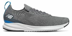 New Balance Men#x27;s Vizo Pro Run Knit Shoes Grey