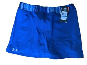 NWT Girl's Under Armour HG Performance Skort Blue XL $14.99