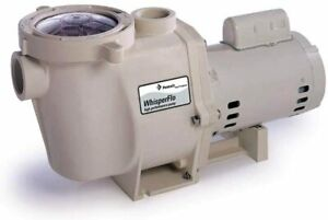 Pentair WhisperFlo Pool Pump 1 12 Horsepower 115230 Volt 1 Phase