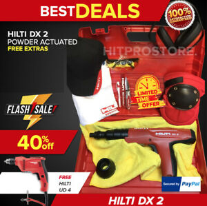 HILTI DX 2 POWDER TOOL, PREOWNED, STRONG, FREE HILTI UD 4, FAST SHIP