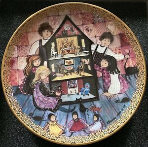 The Doll House Joyful Children Collection Limited Edition Plate 819 5000 MIBCOA $44.00