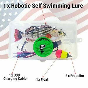 Large Size - Swimming Robotic Fishing Lure  Animated Swimbait - Electric Bait