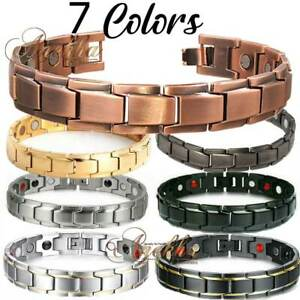 COPPER THERAPEUTIC ENERGY MULTI BIO MAGNETIC BRACELET MEN WOMEN ARTHRITIS PX02