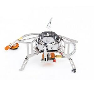Gas Burner Stainless Steel Outdoor Camping Propane Grill Stove Kitchen Equipment