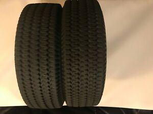(2) Flat Free Hand Truck or Utility Tires 4.10/ 3.50 - 4, No Rims