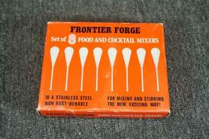 Frontier Forge Set Of 5 Food & Cocktail Mixers 18-8 Stainless Steel Non Rust