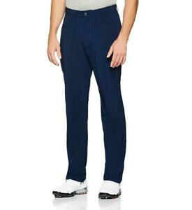 Under Armour Tech Straight Fit Golf Pants Performance 1300198 Academy Blue Navy $38.36