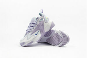 Womens Nike Zoom 2k White Purple Teal Sapphire Sneakers Shoes Retro Style $79.99