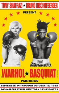 ANDY WARHOL JEAN MICHEL BASQUIAT 1985 BOXING GLOSSY POSTER PICTURE PHOTO ART $10.99