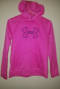 Girl's Under Armour Hoodie Size YXL Youth XL Coldgear. Pink $12.40