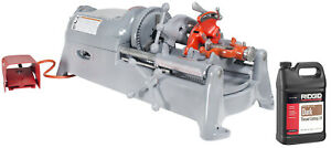 Reconditioned RIDGID® 535 V1 Pipe Threading Machine 811 Die Head Dies and Oil  $3,099.99