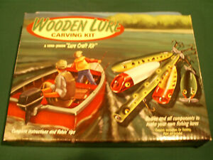 LUHR Jensen Wooden Lure Carving Kit Crankbaits Fishing