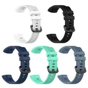 Soft TPU Watch Band Bracelet Wrist Strap Replacement for Huawei Band 3 Pro BEST