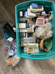 Lot Of Vintage Costume Jewelry AVON AND MORE Wear Resell Craft UNSEARCHED.