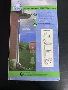 AquaSaver Gravity Rainwater Recovery System Opened Box Unused Recycle Water  $24.99