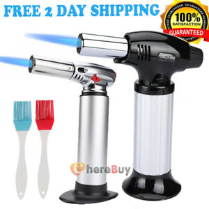Cooking Torch Culinary Food Baking Chef Kitchen Creme Brulee Gas Flame Lighter