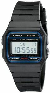 Casio Men's F91W 1 Classic Black Digital Resin Strap Watch