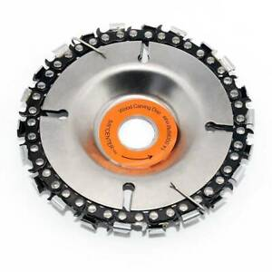 4 Inch Grinder Disc 22 Tooth Fine Chain Saw Angle Carving Culpting Wood Plastics