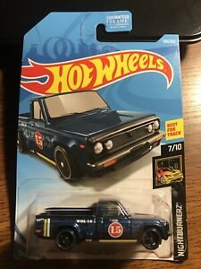 Hot Wheels Mazda Repu Nightburnerz Blue Best For Track