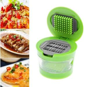 Portable Mini Garlic Grater Chopper Slicer Onion Hand Press Grinder Crusher BEST