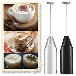 Mixer Stirrer Electric Egg Beater Drinks Milk Foamer Whisk Handle Cooking Home